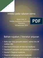 Infeksi Pada Saluran Cerna2012