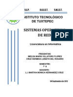 Sistema Operativo Cuatro Comparativo