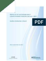 Proyecto de Sustentabilidad y Competitividad Forestal