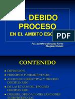 El Debido Proceso -Presentacion