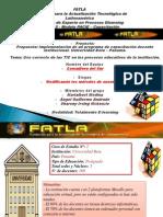 Implementación de un programa de capacitación docente institucional Grupo D