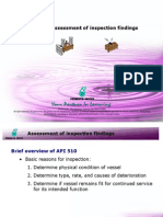 10 - Assessment of Findings as Per API 510