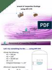 11 - Assessment of Findings as Per API 579