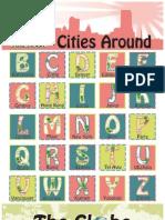 Cities Alphabet Poster