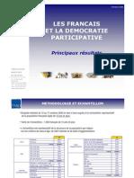 TMO Régions - Les Français Et La démocratie Participative