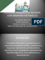 ATENCIÓN PRIMARIA DEL PACIENTE CON SX