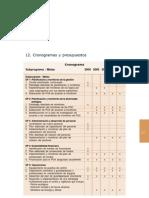 12.Cronograma y Presupuestos 191 Al 201