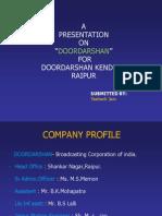 PPT on Doordarshan