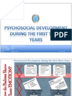 Psychosocial Development During the 1st Three Years