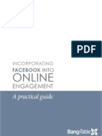 Incorporating Facebook Into Online Community Engagement - A Practical Guide