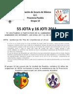 Jota Joti Puebla 2012