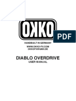 Okko Diablo Manual