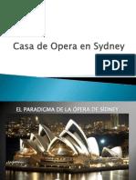 Casa de La Opera de Sydney