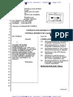 DC v the Siegel - Shuster Attorney