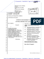 Pacific Pictures First Amended Complaint