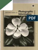 Kodak Index to Photographic Information
