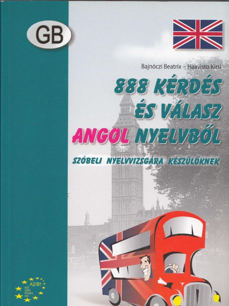 888 kérdés és válasz angol nyelvből 3bb95e4887