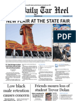 The Daily Tar Heel for October 11, 2012