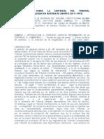 Observaciones Sobre La Sentencia Del Tribunal Constitucional Aleman en Materia de Aborto