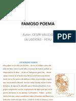Famoso Poema Cesar Vallejo