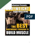 TT Bodyweight Bodybuilding