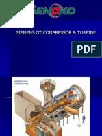Siemens Gt Compressor & Turbine