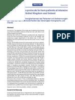 Fluid Resuscitation Protocols for Burn Patients in ICU