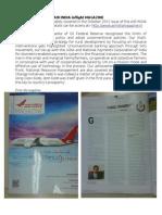 NABARD in Air India in-flight magazine