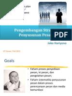 SKOM4314 #5 - Pengembangan Strategi Penyusunan Pesan