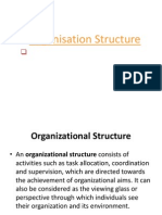 Organisation Structure PPT