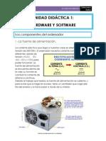 UNIDAD DIDÁCTICA 1 - Hardware y Software