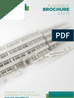 UIET Placement Brochure