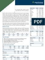 Market Outlook 11-10-12