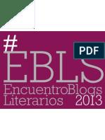 ENCUENTRO BLOGS LITERARIOS-EBLS 2013