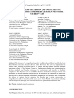 Development of Emission and Engine Testing