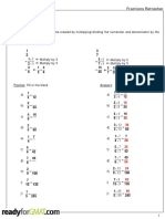 GMAT Fractions Refresher