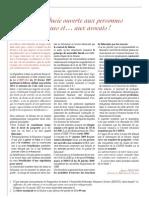 La Fiducie Ouverte Aux Personnes Physiques Et Aux Avocats! (Mars 2009)- Mars 09