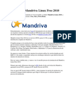 Instalando Mandriva Linux Free 2010