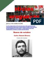 Noticias Uruguayas Jueves 11 de Octubre Del 2012