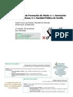 Jornadas de formación de Otoño 2012.- ADSP-Sevilla. [Modo de compatibilidad]