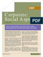 Corporate Social Aspect Sd 07