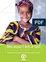 Progress and Obstacles to Girls Education in Africa: Because I am a Girl Africa report 2012