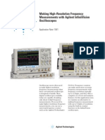 High-Resolution Frequency Measurements With Osciloscope