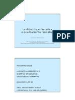 2005 Didattica Orientativa