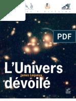 l'univers dévoilé - james lequeux