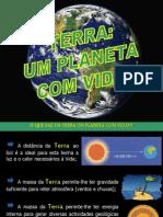 PPT Terra - Um Planeta Com Vida
