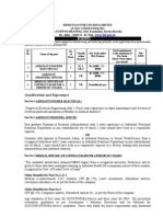 Recruitment Various Post at HIL,UDL
