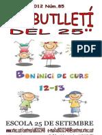 Butlletí Octubre-2012