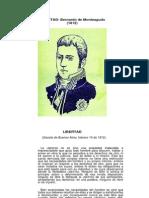 LIBERTAD Bernardo de Monteagudo (1812)