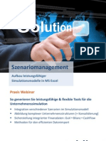 Webinar Szenariomanagement Solutiontogo